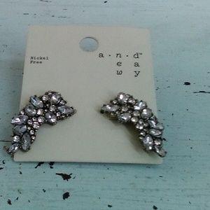 A new day earrings beautiful jewel look